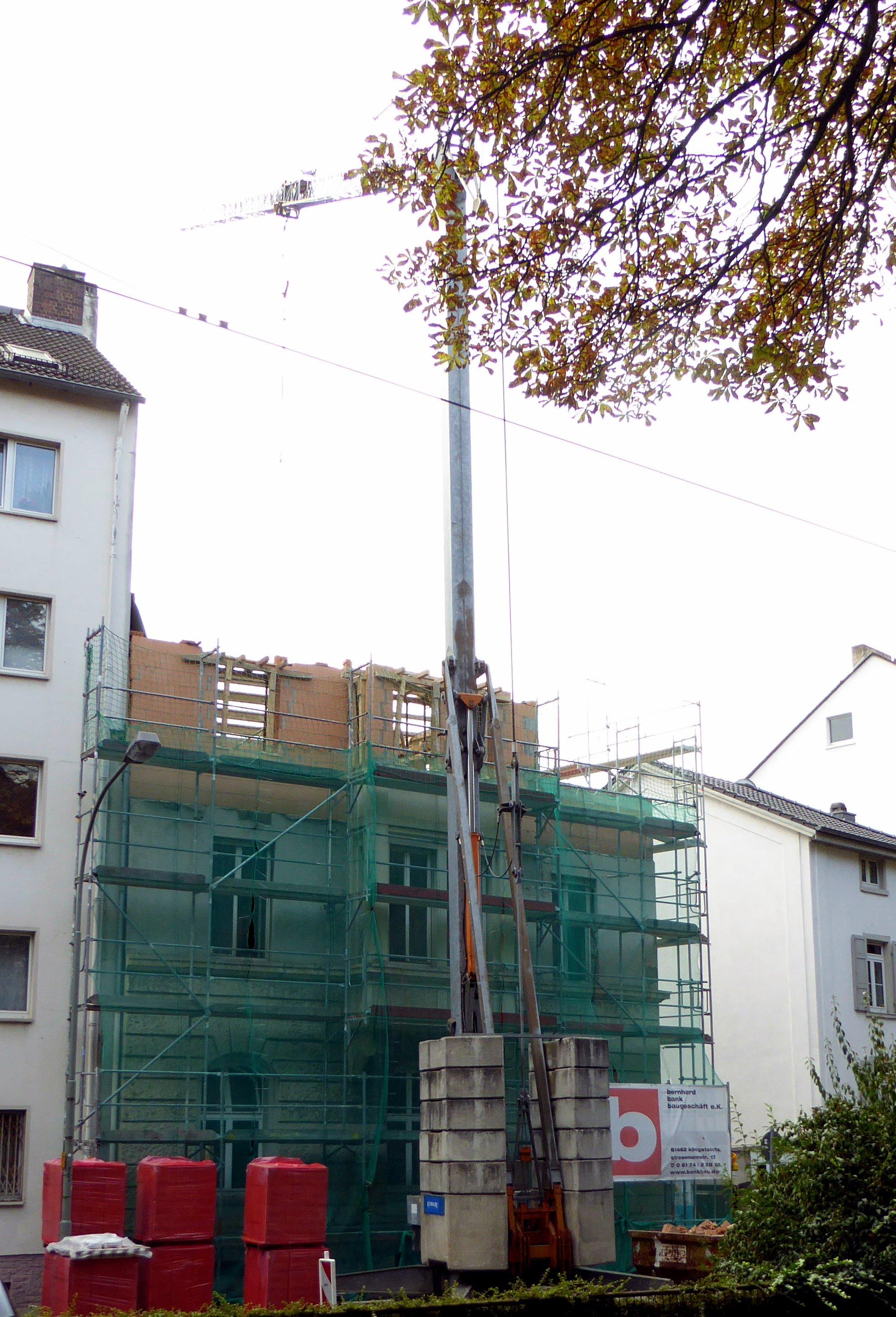 Umbau und Aufstockung Mehrfamilienhaus Frankfurt