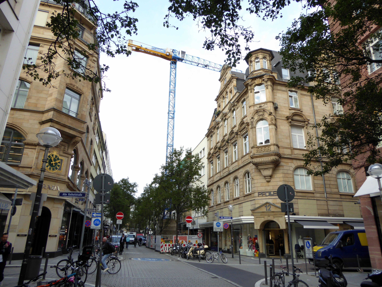 Umbau von zwei Geschäftshäusern Goethestraße Frankfurt